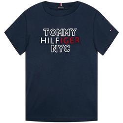Abbigliamento Bambino T-shirt maniche corte Tommy Hilfiger KB0KB058481 Blu