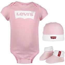 Abbigliamento Bambina Completo Levi's SET 3 PZ Rosa
