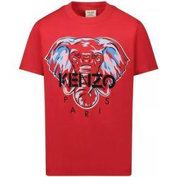 Abbigliamento Bambino T-shirt maniche corte Kenzo KR10638 Rosso
