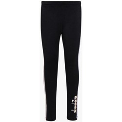 Abbigliamento Bambina Pantaloni Diadora BIANCO Nero