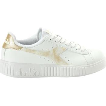 Scarpe Bambina Sneakers Diadora SCARPE ORO Bianco