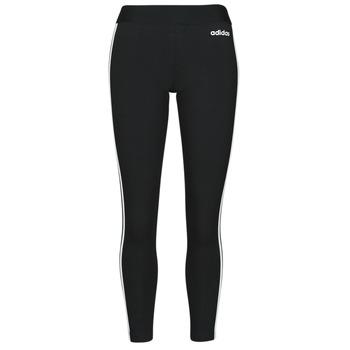 Abbigliamento Donna Leggings adidas Originals W E 3S TIGHT Nero / Bianco