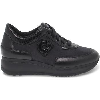 Scarpe Donna Sneakers basse Rucoline Sneakers  AGILE in lycra e pelle nero nero