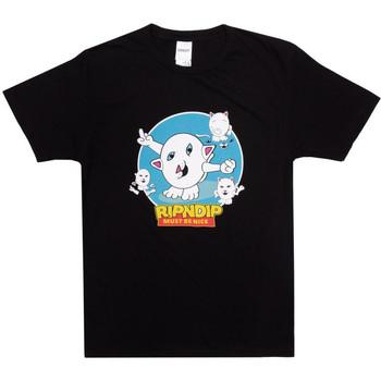 Abbigliamento Uomo T-shirt & Polo Ripndip Nerm story tee Nero