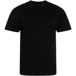 Abbigliamento Uomo T-shirt maniche corte Ecologie EA001 Nero