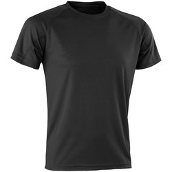 Abbigliamento Uomo T-shirt maniche corte Spiro SR287 Nero