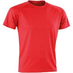 Abbigliamento Uomo T-shirt maniche corte Spiro SR287 Rosso