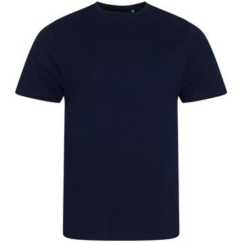 Abbigliamento Uomo T-shirt maniche corte Ecologie EA001 Blu navy