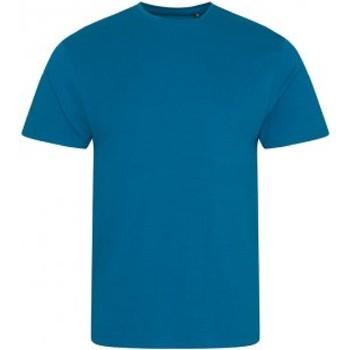 Abbigliamento Uomo T-shirt maniche corte Ecologie EA001 Blu inchiostro