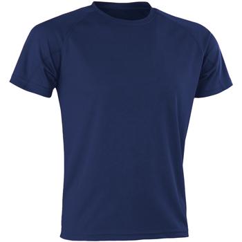 Abbigliamento Uomo T-shirt maniche corte Spiro SR287 Blu navy