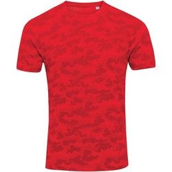 Abbigliamento Uomo T-shirt maniche corte Awdis JT034 Rosso camouflage