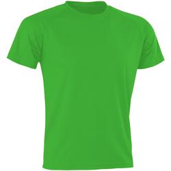 Abbigliamento Uomo T-shirt maniche corte Spiro SR287 Verde fluo