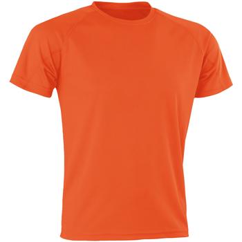 Abbigliamento Uomo T-shirt maniche corte Spiro SR287 Arancio