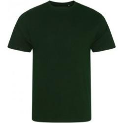 Abbigliamento Uomo T-shirt maniche corte Ecologie EA001 Verde bottiglia