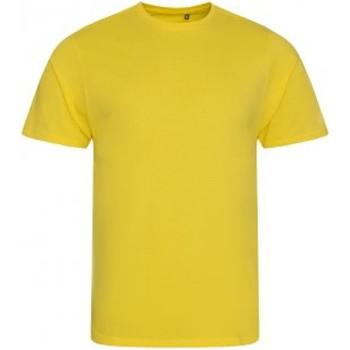 Abbigliamento Uomo T-shirt maniche corte Ecologie EA001 Giallo sole