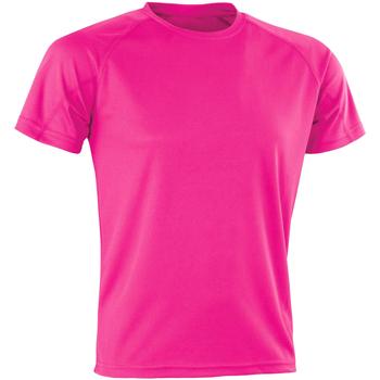 Abbigliamento Uomo T-shirt maniche corte Spiro SR287 Fucsia
