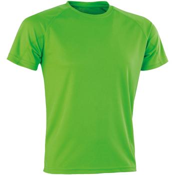 Abbigliamento Uomo T-shirt maniche corte Spiro SR287 Verde Lime