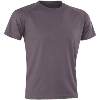 Abbigliamento Uomo T-shirt maniche corte Spiro SR287 Grigio