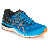 Scarpe Uomo Running / Trail Asics NIMBUS 23 Blu / Multicolore