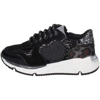 Scarpe Bambina Sneakers basse Asso AG-8701 NERO