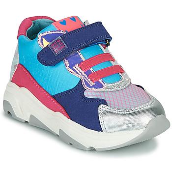 Scarpe Bambina Sneakers alte Agatha Ruiz de la Prada BRAZIL Blu