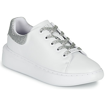 Scarpe Donna Sneakers basse Guess BRADLY Bianco / Argento