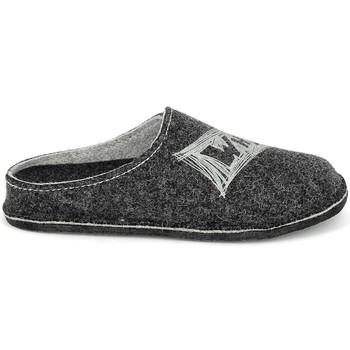 Scarpe Uomo Pantofole Fargeot Salazar Antracite Grigio