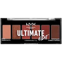 Bellezza Donna Ombretti & primer Nyx Ultimate Edit Petite Shadow Palette warm Neutrals 6x1,2 Gr