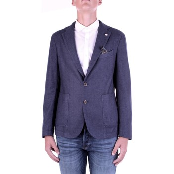 Abbigliamento Uomo Giacche / Blazer Manuel Ritz 2932G2728TW-203507 Blu