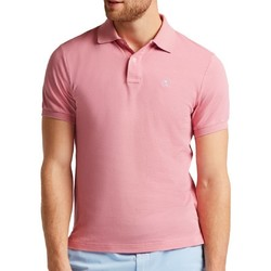 Abbigliamento Uomo Polo maniche corte Hackett HM562363-357 Rosa
