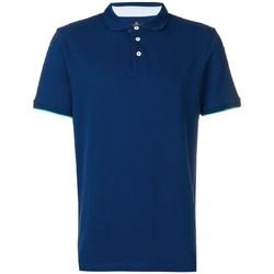 Abbigliamento Uomo Polo maniche corte Hackett HM562377-581 Blu