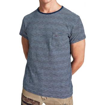 Abbigliamento Uomo T-shirt maniche corte Hackett HM500318-561 Blu
