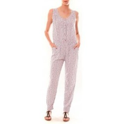 Abbigliamento Donna Tuta jumpsuit / Salopette Dress Code Combinaison Z073  Beige Beige