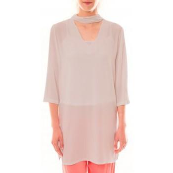 Abbigliamento Donna Abiti corti La Vitrine De La Mode Robe 156 By La Vitrine Beige Beige