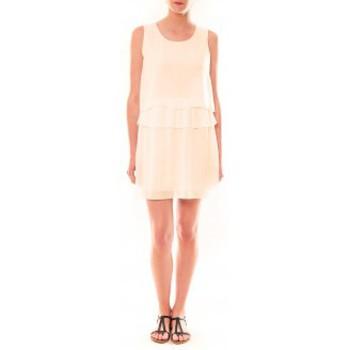 Abbigliamento Donna Abiti corti La Vitrine De La Mode Robe TROIS By La Vitrine Beige Beige