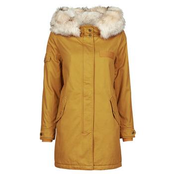 Abbigliamento Donna Parka Only ONLMAY LIFE Mostarda