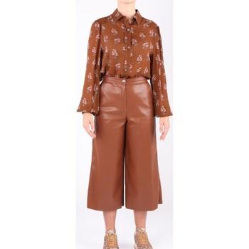 Abbigliamento Donna Camicie Semicouture Y0WS10 Camicette Donna Caffe' Caffe'