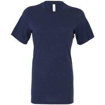 Abbigliamento Donna T-shirt maniche corte Bella + Canvas BL6400 Blu navy