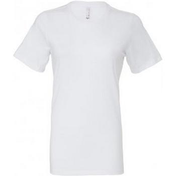Abbigliamento Donna T-shirt maniche corte Bella + Canvas BL6400 Bianco