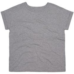 Abbigliamento Donna T-shirt maniche corte Mantis M193 Grigio screziato