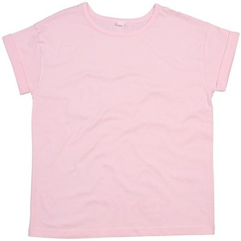 Abbigliamento Donna T-shirt maniche corte Mantis M193 Rosa pastello