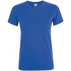 Abbigliamento Donna T-shirt maniche corte Sols 01825 Blu reale