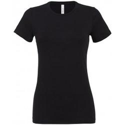 Abbigliamento Donna T-shirt maniche corte Bella + Canvas BL6400 Nero