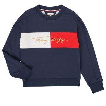 Abbigliamento Bambina Felpe Tommy Hilfiger KG0KG05497-C87-J Marine