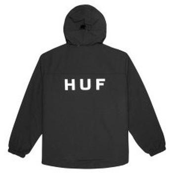 Abbigliamento Uomo Giubbotti Huf Giacca Essentials Zip Standard Shell - Black Multicolore