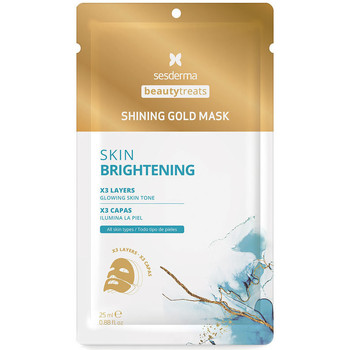 Bellezza Donna Maschere & scrub Sesderma Beauty Treats Shining Gold Mask  25 ml