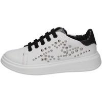 Scarpe Bambina Sneakers basse Asso AG-8402 BIANCO