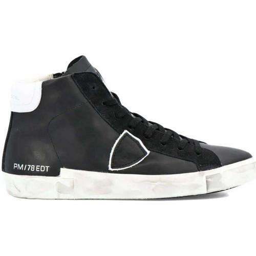 Scarpe Uomo Sneakers alte Philippe Model  Nero