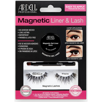 Bellezza Donna Mascara Ciglia-finte Ardell Magnetic Liner & Lash Wispies Liner +  2 lashes