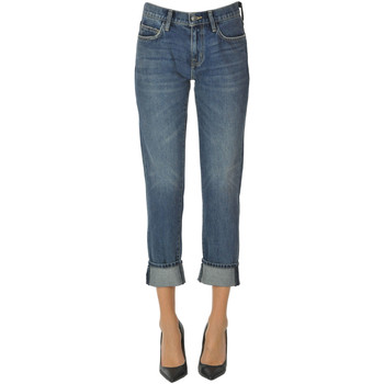 Abbigliamento Donna Jeans slim Current Elliott Jeans cropped Denim